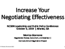 Watch Increase Your Negotiating Effectiveness Video