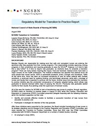 Transition to Practice Report  a7d1e0d45