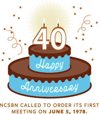 NCSBN called to order its first meeting on June 5, 1978